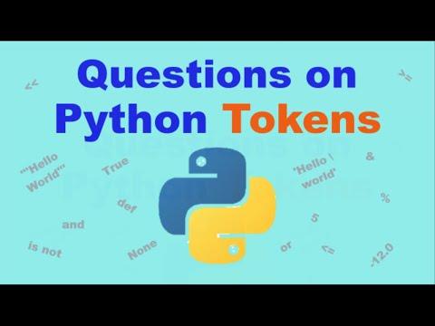 Python Tokens