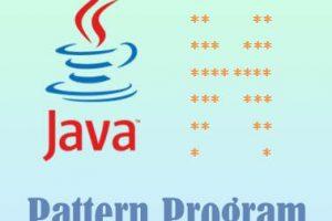 Butterfly pattern program in java