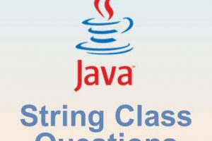 Cracking Java String class questions
